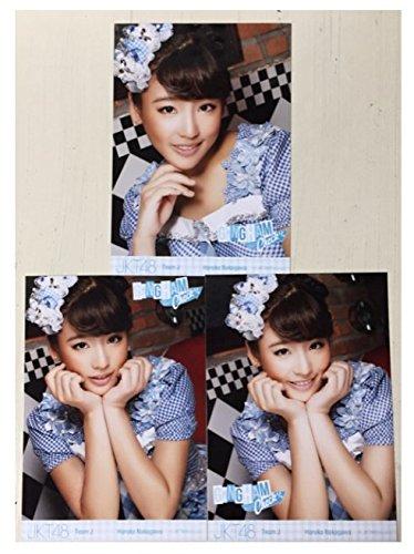 AKB48 JKT48 仲川遥香 ギンガムチェック コンプ 3枚 生写真