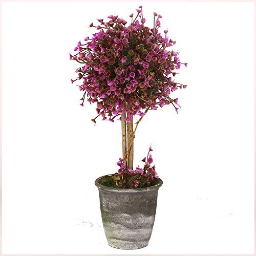 Vgia home decor purple artificial plants retro trees for Artificial plants indoor decoration