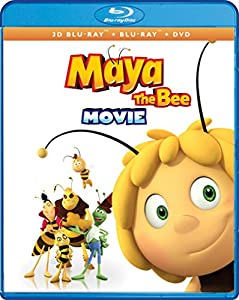 Maya The Bee Movie (3-D Bluray + Bluray + DVD + Digital) [Blu-ray] by Shout! Factory