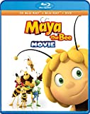 Maya The Bee Movie (3-D Bluray + Bluray + DVD + Digital) [Blu-ray]