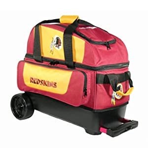 NFL Double Roller Bowling Bag- Washington Redskins by KR Strikeforce Bowling Bags