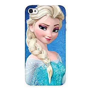 HWC Wink Princess Back Case Cover for iPhone 4 4s