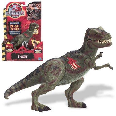 T rex jurassic park 3 toy