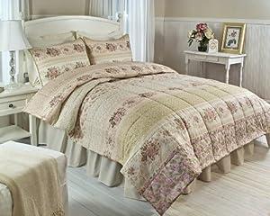 Perfect Hedaya Home Fashions Roseland King Quilt Set