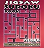 Jigsaw Sudoku book: irregularly shaped sudoku puzzles in large font (Volume 1)