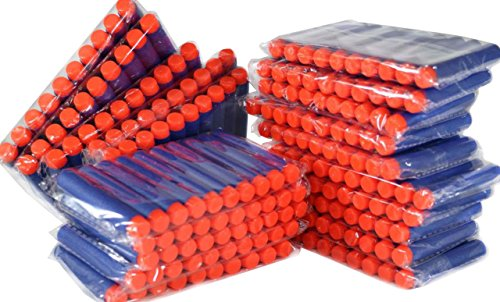 Nerf Compatible 200 Darts Hard Head Elite N Strike Refill Series Pack for Kid Toy Gun Fire Blaster by ZTOZZ (Blue Hard Tip, 200 pcs) (Guns With Real Bullets compare prices)