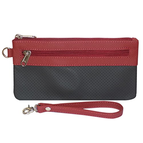 Style98 100% Leather Unisex Multi Purpose Toiletry Bag||Toiletry Kit||Toiletry Pouch||Handbag||Travel Toiletry...