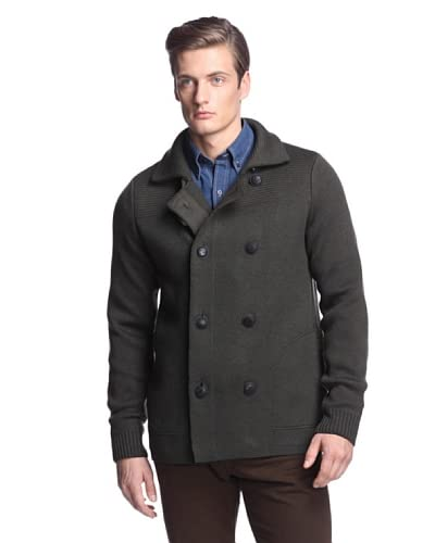 Vince Men's Wool Peacoat Sweater