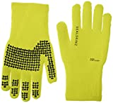 SealSkinz Ultra Grip Hi Vis Gloves Outdoor Yellow yellow Size:Small