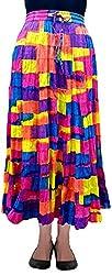 Cotton Breeze Women's Cotton Long Skirt (FP228)