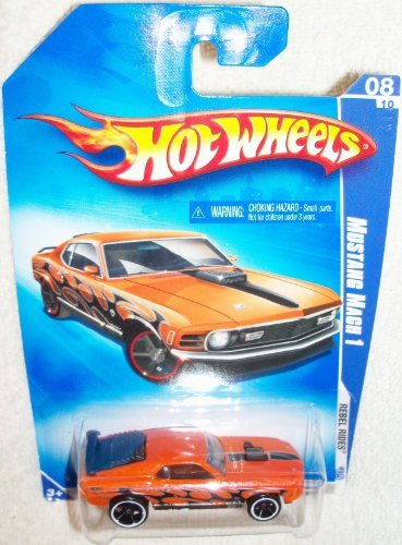 Hot Wheels 1970 Ford MUSTANG MACH 1 Rebel Rides 2009 - 1