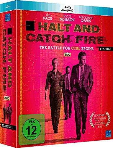 Halt and Catch Fire - Staffel 1 (Episode 1-10 im 4 Disc Set) [Blu-ray]