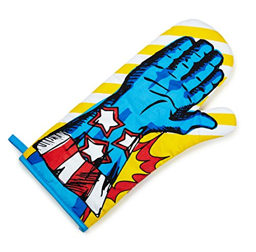 Stars and Stripes Superhero Oven Glove Mitt