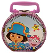Dora the Explorer Tin Box - Captain Dora & Boots Keepsake Box