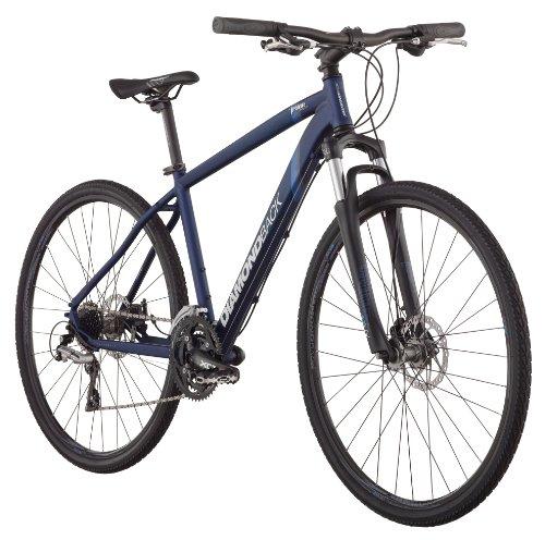 Diamondback 2013 Trace Sport Dual Sport Bike with 700c Wheels  (Blue, 16-Inch/Small)