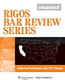 CA Performance Test Review (Rigos Bar Review) (Emanuel Rigos Bar Review)