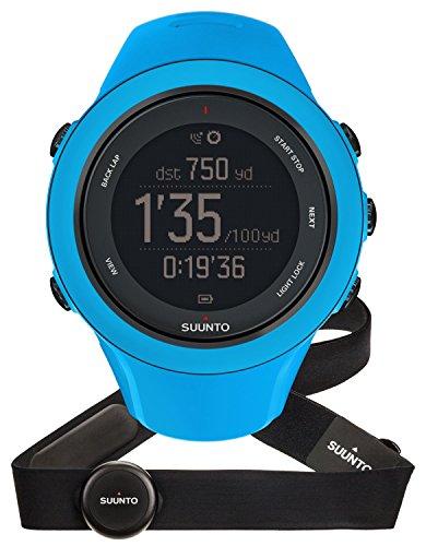 SUUNTO Ambit3 Sport - Reloj GPS para actividades multideporte con conexión móvil, color azul / negro