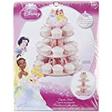 Wilton Unisex Adult Disney Princess Cupcake Stand Tan Medium