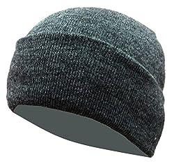 Woolen Skull Cap - Coal Grey