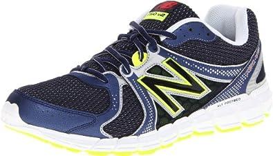 (快抢)New Balance新百伦男士多功能缓震跑鞋M750 Neutral Running灰蓝$47.97