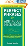 Perfect Phrases for Writing Job Descr...