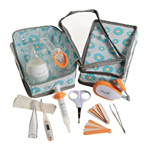 Safety 1st Detach and Go Healthcare Kit, Orange/White