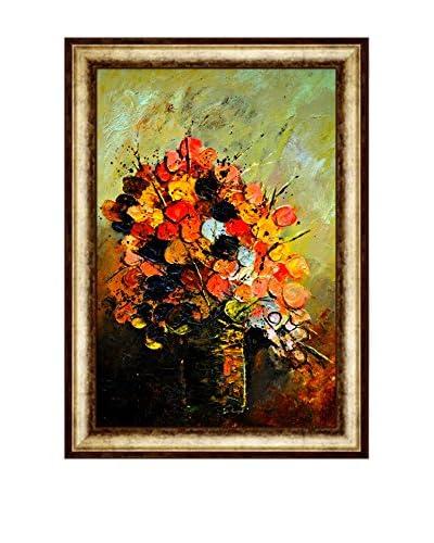 Pol Ledent Still Life 96452 Framed Canvas Print, Multi, 43 x 31