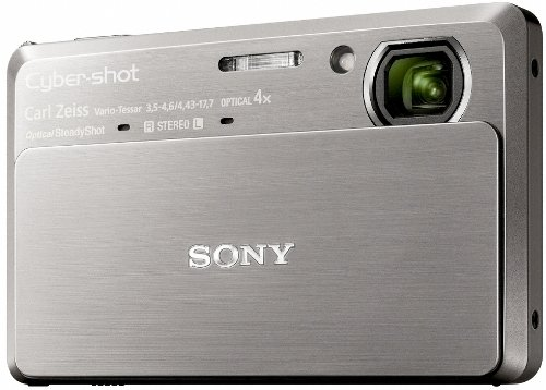 Sony DSCTX7S Cyber-shot Digital Camera - Silver (10.2 MP, 4x Optical Zoom) 3.5 inch LCD
