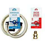 Winterize & Water Heater Bypass Kit, Lead Free Brass Valves (RMQ332)