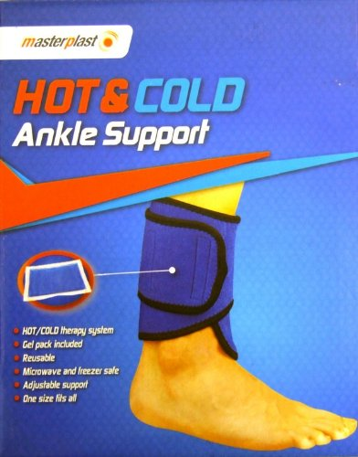 HOT AND COLD COMPRESS ANKLE SUPPORT THERAPY SYSTEM