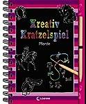 Kreativ-Kratzelspiel: Pferde (Kreativ...