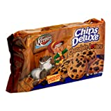 Keebler Chips Deluxe Cookies, Chocolate Lovers, 15-Ounce Packages (Pack of 4) ~ Chips Deluxe