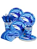 Shark Party Standard Kit Serves 8 Guests