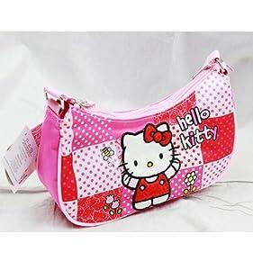 Sanrio Hello Kitty Girl Handbag Purse Shoulder Strap Bag from Sanrio