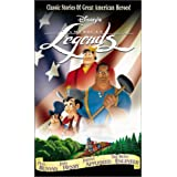 Disney's American Legends: Paul Bunyan, John Henry, Johnny Appleseed, The Brave Engineer [VHS] ~ Bill Lee