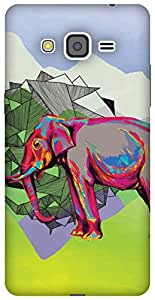 The Racoon Lean Elephant Dimensions hard plastic printed back case / cover for Samsung Galaxy Grand Prime