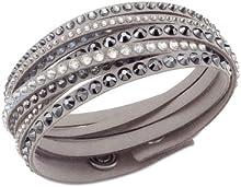 Comprar Swarovski 5021033 - Pulsera de metal con cristal (37 cm)