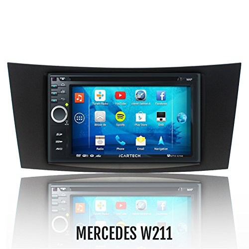 ?Alpha S700 für MERCEDES E-KLASSE W211? Das bärenstarke Android Radio mit GPS?Bluetooth?WiFi?Multi-Touch Display?3G?Navigation? Vorbereitung für: TV (DVB-T) & Digitales Radio (DAB+), Dash-Cam (DVR), - Apps-Erweiterung wie z.B. Radar-Warner, Billiger tanken, Spotify u.v.m, inklusive Wifi Mirroring: iPhone 4,5,5 c s Display Spiegelung, Navigationssystem, Autoradio