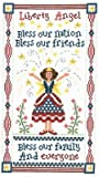 img - for Liberty Angel Cross Stitch Chart book / textbook / text book