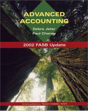 Advanced Accounting (2002 FASB Update)