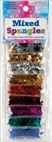 Sulyn Sequin Assortment 9 Pouch Sampler 27 Grams/Pkg-Heart Spangles; 3 Items/Order