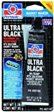 Permatex 82180 Ultra Black Maximum Oil Resistance RTV Silicone Gasket Maker - 3.35 oz.