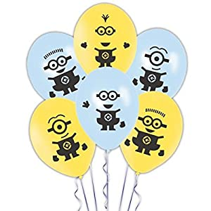 Amscan International 27 cm Minions Latex Balloons