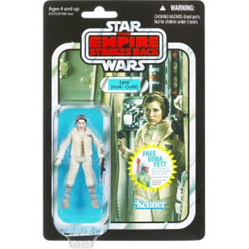 star wars vintage collection 2010 leia hoth outfit action figure