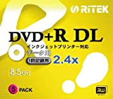 RITEK D+DL2X5PW [DVD+R DL 2.4�{�� 5���g]