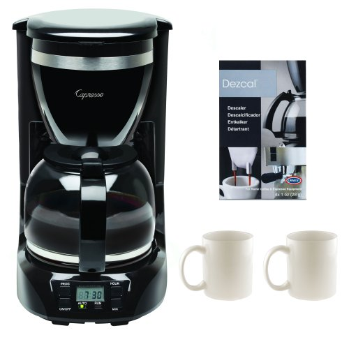Capresso 42401 12-Cup Drip Coffee Maker + 2-Pieces