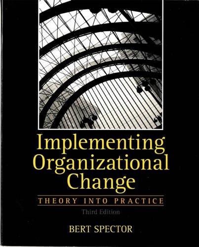 Organizational Change (3rd Edition)
