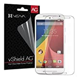 VENA vShield - Motorola Moto G (2nd Generation - 2014) Screen Protector [Anti-Glare] Matte Anti-Scratch Shield with Lifetime Replacemente Warranty (3 Pack)