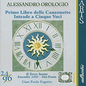 Alessandro Orologio, Gian Paolo Fagotto, Il Terzo Suono - Orologio