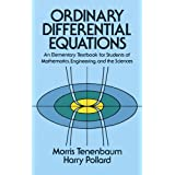 Ordinary Differential Equations (Dover Books on Mathematics)by M. Tenenbaum